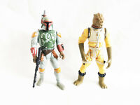 Star Wars Boba Fett and Bosk Bounty Hunetrs Action Figures  3.75""