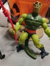 VTG 1983 WHIPLASH Evil Skeletor Lizard Complete He Man Action Figure Spear MOTU