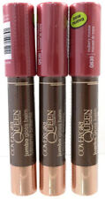 (3) Covergirl Queen Collection Jumbo Lip Gloss Balm Sealed Q830 Mulberry Mousse