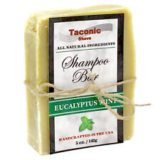 Taconic Shave Eucalyptus Mint Handcrafted Shampoo Bar - 100% Natural & Organic