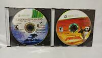 Kung Fu Panda + Legend of Guardians - Microsoft Xbox 360 Complete Lot Game Works