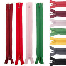 5-10pcs Mix Nylon Coil Zippers Tailor Sewer Craft (7-9) Inch Crafter's
