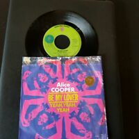 "Alice Cooper - Be My Lover-Vinyl,7"",45 RPM,Single-Sammlung Rock-FR-1972"