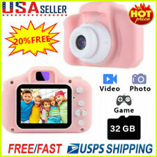 1080P Digital Camera 2.0'' LCD HD Mini Camera With 32G TF Card For Children