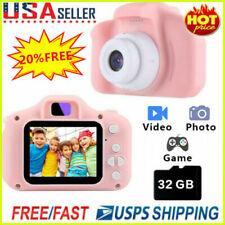 1080P Digital Camera 2.0'' LCD HD Mini Camera With 32G TF Card For Children