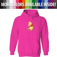 Unisex Sweater Mens Women Pullover Hoodie Sweatshirt Love Cuties Pooh Leaf S~3XL