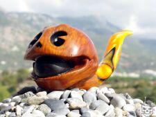 Briar Wood Tobacco Pipe PacMan Skull Oguz Simsek pac man cult arcade video game