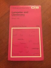 Lampeter & Llandovery Ordnance Survey 1:50 000 First Series Landranger Map 146