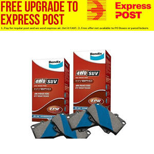 Bendix 4x4 Front and Rear Brake Pad Set DB1916-DB19174WD SUV fits Mazda CX-9