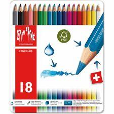 Caran D'Ache Pencils Coloured Fancolor School Box 18 Pastels