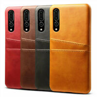 For Huawei Mate 20 Pro P20 P30 Pro Wallet Credit Card Slot Leather Case Cover