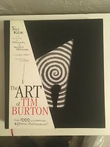 The Art of Tim Burton Steeles Publ 1st Edition Signed in Person LACMA + Extras