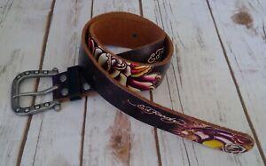 Ed Hardy leather belt