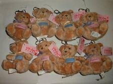 Russ® With Love Name Keychain Bear - 3 A-D Choices (Alexandra to Danielle) Mint