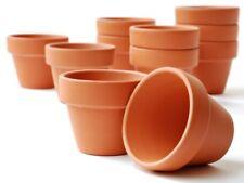 25er-Set Tontöpfe - Blumentöpfe Größe  H5cm Ø5cm -  H12cm Ø12cm - Ton