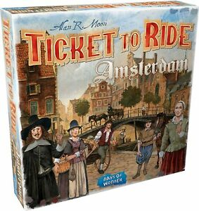 Ticket To Ride: Amsterdam SEALED UNOPENED FREE SHIPPING