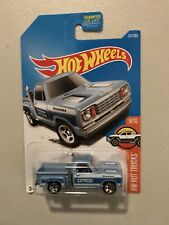2017 Hot Wheels #131/365 HW Hot Trucks #9/10  1978 Dodge Li'l Red Express Truck