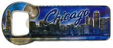 Chicago Illinois Metal Bottle Opener Fridge Magnet