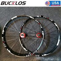 "BUCKLOS Mountain Wheelset 26"" 27.5"" 29"" Bicycle Wheels Carbon Hub (Front & Rear)"
