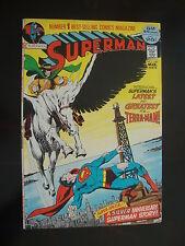 Superman #249 G/VG Terra Man