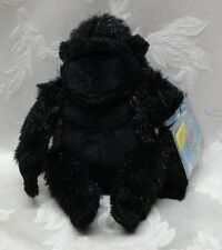"New Ganz Webkinz Lil' Kinz Virtual Pets Gorilla Ape 7"" Plush Unused Sealed Code"