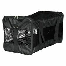Cat Carrier Weight Upto 12kg Black Removable Shoulder Straps Carrying Handles