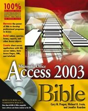Access 2003 Bible-Cary N. Prague, Michael R. Irwin, Jennifer Reardon