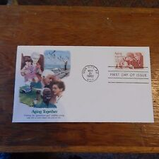 "Estate Find FDC ""AGING TOGETHER"" 20 Cents, Sun City, AZ - May 21, 1982"