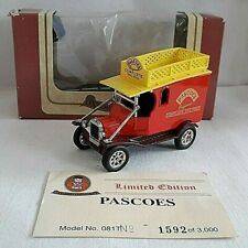 OXFORD DIECAST FORD MODEL T VAN PASCOE' COMPLETE DOG FOOD BOXED LIMITED 081T