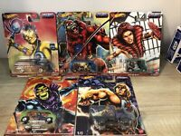 Hot Wheels Premium Masters of the Universe Complete Set of 5 New In Box 2021
