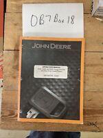 John Deere 450G 550G 650G Crawler Dozer Owner Operator Manual OMT163974