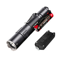 Klarus XT2CR Rechargeable Flashlight -1600Lm w/Battery & Nitecore Tip -360Lm