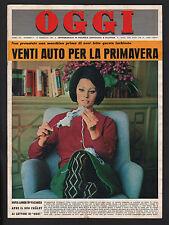OGGI 9/1964 LOREN FABIOLA BALDOVINO MAZZINGHI PAOLA ALBERTO LIEGI SELLERS EKLAND