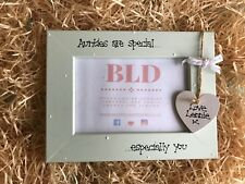 Personalised New Auntie Aunty Sister Picture Photo Frame Keepsake Gift  6x4 Size