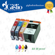 10 CARTUCCE PER HP AI-920XL CON CHIP OFFICEJET 6000 6500 A AIO WIFI 7000 7500 A