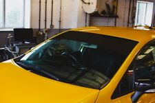 Plain Black Renault Megane 4 RS 280 300 Windscreen Sunstrip