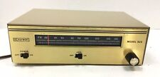 Vintage AM/FM Tuner Raymer Model 820 Trutone Hollywood CA  Tested! Works Great!