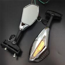 Motocycle Chromed Turn Signal Mirror For Yamaha YZF R6 R6S R1 06-09