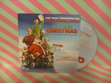 ARTHUR CHRISTMAS Original Motion Picture Soundtrack CD FOR YOUR CONSIDERATION