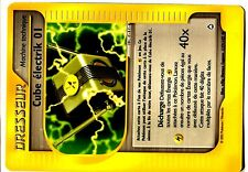 POKEMON AQUAPOLIS UNCO N° 127 CUBE ELECTRIK 01
