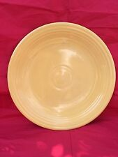 "RARE VINTAGE OLD YELLOW, HOMER LAUGHLIN, LARGE 12"" CHOP PLATE FIESTAWARE"