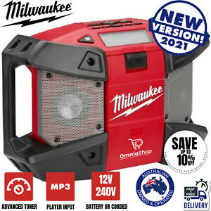 Radio Music  MILWAUKEE WORKSITE JOB SITE Work Tradie Cordless Skin Digital
