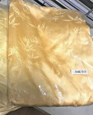 "100% Mulberry Silk 19m Duvet Cover Full /Double Size 70x86"" seamed Gold Jacquard"