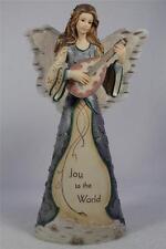 Elements-Pavillion 'Joy To The World' Angel Playing Mandolin Figurine #82048 NIB