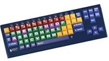 Big Blu Kinderboard Keyboard with Bluetooth Multi-Color Large Keys Mac & PC