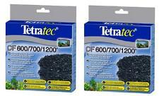 2 X Carbonio Tetratec TETRA TEC EX600 EX700 EX1200 EX2400 PESCI TROPICALI media
