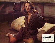 CHARLOTTE RAMPLING  LA CHAIR DE L'ORCHIDEE  1974 VINTAGE PHOTO LOBBY CARD N°4