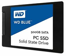 WD Blue 500GB Internal SSD Solid State Drive - SATA 6Gb/s 2.5 Inch (wds500g1b0a)