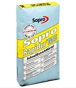 500 kg- Sopro Rapidur M5 SchnellEstrich Mörtel, schnellbindender Estrich Mörtel