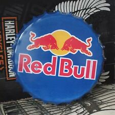 Red Bull BEER Bottle Cap vintage Tin Sign Bar pub home Wall Decor Metal Poster